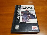 NBA Live 96 Longbox (Sony PlayStation 1) PS1 Complete with Registration Card
