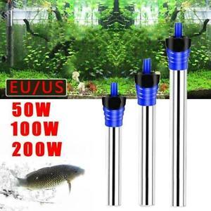 50/100 / 200W Aquarium Aquarium Heizung Thermostat Werkzeug C3C8