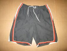 Mens NIKE swim shorts w/ mesh liner bathing suit trunks L Lg