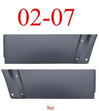 02 07 Jeep Liberty Rear Lower Door Skin Set Outer Panel 0486-173 & 0486-174