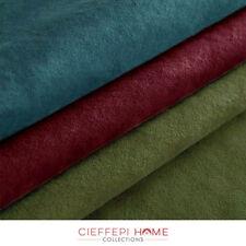 CAMOSCIO Tessuto al metro scamosciato in varie misure e colori alt. 140 cm.