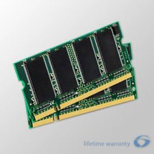 2Gb Kit (2x1Gb) Memory Ram Upgrade for Dell Latitude D505 Laptops