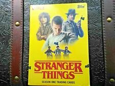 Stranger Things - Season 1 - New sealed Tv Collector Cards