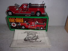 Ertl 1929 Mack Fire Truck Bank - Texaco - Collector Series 15 - New in Box