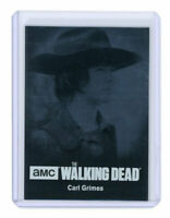 The Walking Dead Season 4 Part 1 Card C03 Silver Base Parallel /99 Carl Grimes