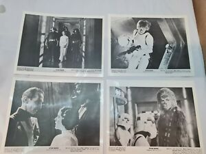 """Set of 28 Star Wars Black & White Lobby Cards for Episode IV 10x8""""+Extras"""