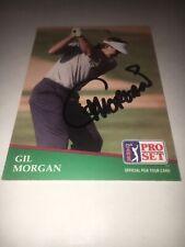 Gil Morgan Signed 1991 Golf Card