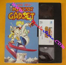 VHS film I CASI DELL'INSPECTOR GADGET ispettore 2004 animazione (F97) no dvd