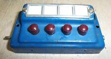 Märklin H0 00 474/4 Switch Point Control Desk Tastenschaltpult 40er/50er Years
