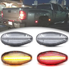 Clear LED Dually Fender Bed Marker Light for 01-14 Chevy Silverado GMC Sierra 4X