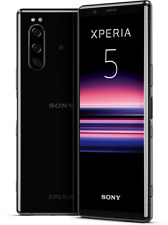 Sony Xperia 5 DualSim schwarz 128GB LTE Android Smartphone 6,1