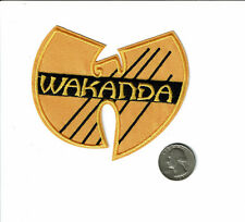 WAKANDA patch Iron on embroirderd patches wu tang Black Panther free us shipping