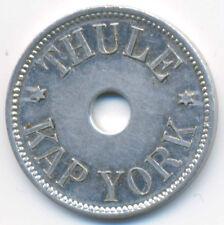 Greenland Thule - Kap York Aluminium 100 Ore 1910 XF+/AU