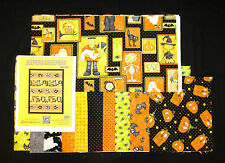 HALLOWEEN JEEPERS CREEPERS Pieced Quilt Kit and Backing on 100% COTTON FABRIC