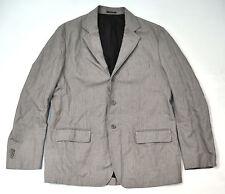 CP Company Grey 3 Button Herringbone Blazer Jacket Pants Suit 56 Mens Italy