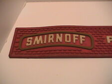 SMIRNOFF PURE PARTY VODKA BREWERY DISTILLERY BAR TAVERN RED RUBBER BANNER SIGN