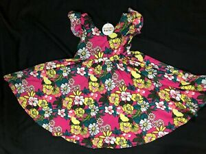 NWT Dot Dot Smile Twirly Summer dress Girls Empire FLORAL