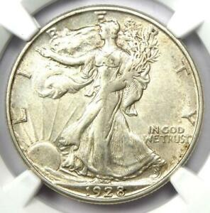 1928-S Walking Liberty Half Dollar 50C - Certified NGC XF45 (EF45) - Looks AU!