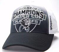 Manchester Monarchs Reebok 2015 AHL Calder Cup Champions Stretch Fit Cap Hat