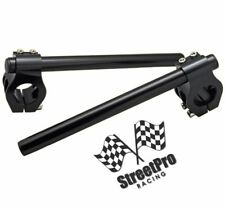 Motorcycle Clip on Handlebars bars 37mm Anodized Black