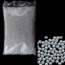 10000 PCS White 3D Nail Art Glitter Rhinestone Pearls For Nail Decorations Tools