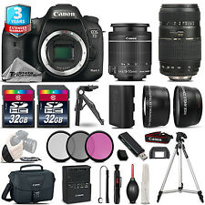 Canon EOS 7D Mark II DSLR Camera + 18-55mm STM & 70-300mm Lens + 3yr Warranty