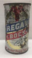 Regal Bock 12 ounce flat top beer can