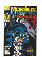 Morbius #4 VF/NM 9.0 Marvel Comics 1992 Vampire Horror, Spider-man app.