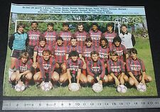 CLIPPING POSTER FOOTBALL 1985-1986 D2 CO LE PUY EN VELAY STADE LAFAYETTE