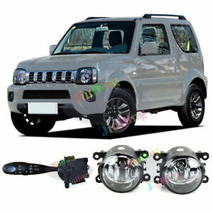 Headlight Fog Lamp Switch Turn Signal Kit  Fog Lights For Suzuki Jimny 2007-2016