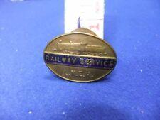 vtg badge lner london north east railway service F 25778 home front ww lapel