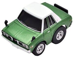 New TAKARA TOMY Choro Q zero Z-37a Nissan DATSUN 230 Cedric GX (green)