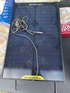 Goal Zero Boulder 15 Solar Panel / Charger