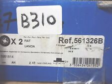 B310 - COPPIA DISCHI FRENO BENDIX 561326B - FIAT LANCIA Y10 DUNA ELBA PANDA UNO