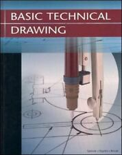 Basic Technical Drawing by Spencer Dygdon Novak Hardcover Book
