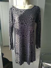 George Grey Flower Dress Size 14