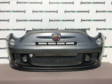 FIAT 500 ABARTH 2008-2015 FRONT BUMPER IN GREY FULLY COMPLETE GENUINE [F309]