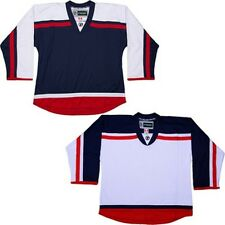 Customized NHL Style Replica Hockey Jersey w/ NAME  NUMBER Columbus Blue Jackets