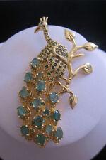 Natural Emerald Fine Brooches