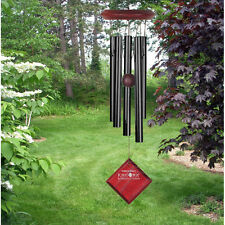 Black Wind Chime Hand Tuned