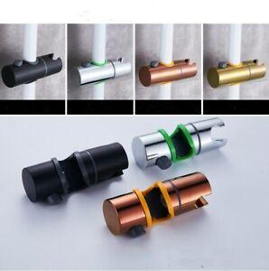 4 Colors Adjustable Hand Held Shower Bracket Clamp Holder For Bathroom Slide Bar