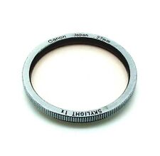 Genuine Canon 27mm Skylight Filter 1x *741