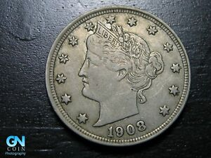 1908 Liberty V Nickel  --  MAKE US AN OFFER!  #K0290