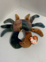 Mint Condition Ty Original Beanie Babies Claude the Crab 1996 rare