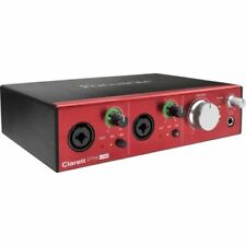 Focusrite Clarett 2Pre USB 10x4 USB Audio Interface W/Protools