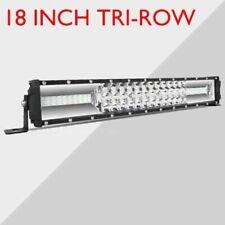 Autofeel 18 INCH LED Tri Row LED Light Bar Spot Flood Work 4WD SUV Driving Lamp