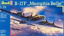 Revell of Germany 1:72 B-17F Memphis Belle Plastic Model Kit 04279 RVL04279