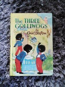 Vintage Enid Blyton The Three Golliwogs Book 1969