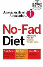 American Heart Association The No-Fad Diet: A Personal Plan for Health-ExLibrary