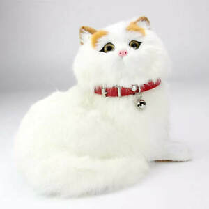 Soft Genuine Leather Cat Collar With Bell Adjustable Puppy Neck Strap For Kitten
